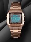 手錶男韓版潮時尚多功能夜光雙時間倒計時學生運動男士防水電子錶