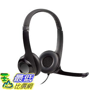 [8美國直購] 耳機 Logitech USB Headset H390 with Noise Cancelling Mic _T29
