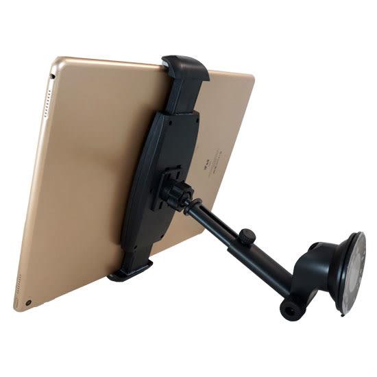 【H101B+K22】10~13吋 儀表板伸縮平板架/吸盤式車上固定架/手機架/車用支架/展示固定架-ZW