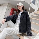 2020春季新款韓版牛仔外套女寬鬆復古港味學生bf百搭短款夾克上衣