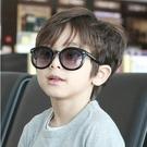►兒童太陽眼鏡 寶寶箭頭 墨鏡 復古時尚蛤蟆鏡  防紫外線【B9122】
