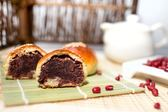 雪花齋-紅燒餅12入(紅豆沙,紅豆餅) -豐原伴手禮,中秋節慶禮盒