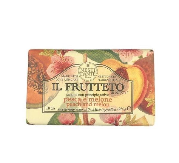 義大利 NESTI DANTE 身體香皂 IL FRUTTETO 桃子和香瓜 (Peach and Melon) 250g
