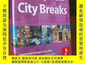 二手書博民逛書店EUROPEAN罕見CITY BREAKS (experiece