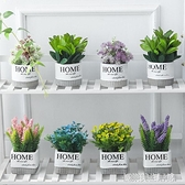 北歐客廳仿真綠色植物ins小盆栽擺件創意家居辦公室桌面裝飾假花 【優樂美】