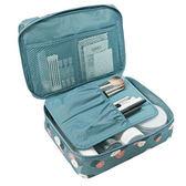 ♚MY COLOR♚韓版旅行分層洗漱包 整理 行李 登機 可折疊 化妝旅遊 收納包 旅行組【L194】