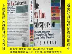 二手書博民逛書店THE罕見SIX-HAT SALESPERSON 有筆記Y198