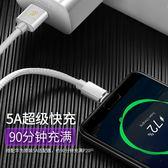 Type-C Micro 數據線 皮革 傳輸線 5A 閃充 超級快充 充電傳輸 快充線 安卓 華為 充電線 DUX DUCIS