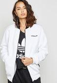 *Adidas Bomber Track Jacket 女裝 白色 運動休閒 立領外套 BR0293