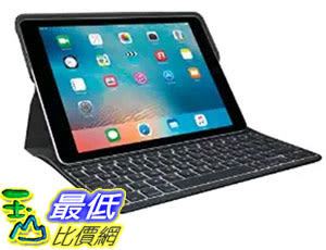 [美國直購] Logitech 920-007824 12.9 吋 羅技鍵盤 Logitech Create – Backlit Keyboard Case with Smart Connector