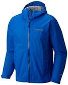 【Columbia】 男款OTEvan2.5L單件式防水外套_藍色