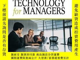 二手書博民逛書店Information罕見Technology for Managers-面向管理者的信息技術Y443421