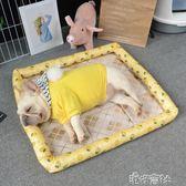 夏季寵物貓窩狗窩涼席冰墊法斗泰迪睡墊夏降溫墊睡覺耐咬新品  港仔會社yys