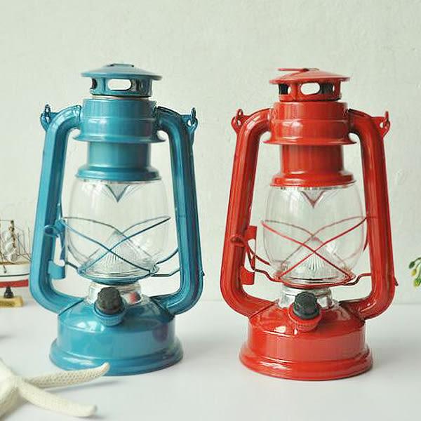 【BlueCat】復古手提露營營地燈 煤油燈 馬燈 古桅燈