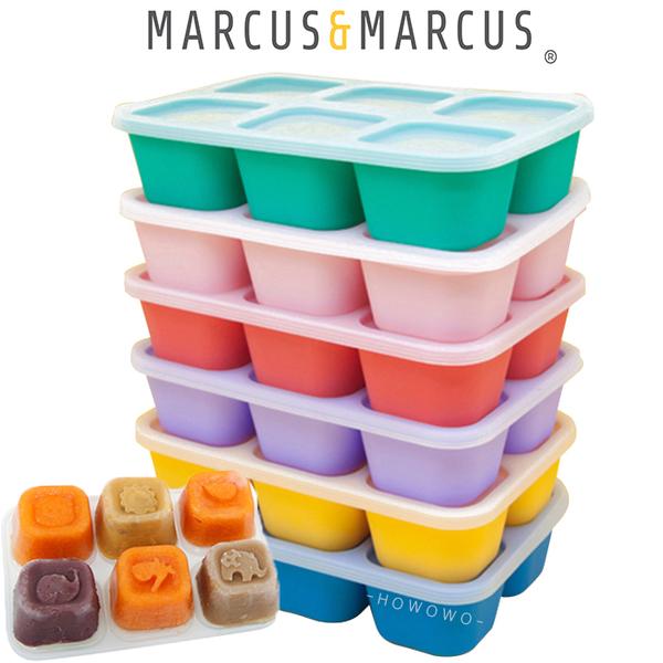 Marcus & Marcus - 動物樂園造型矽膠副食品分裝保存盒 1090 好娃娃