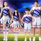 啦啦操服裝成人女套裝籃球足球拉拉隊比賽服啦啦隊服裝兒童演出服【蘇迪蔓】