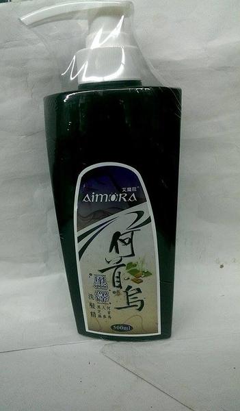 何首烏黑澤洗髮精 500ml(瓶)*6瓶