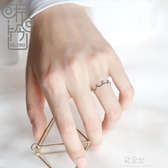 bling手作女王大人的小戒指加冕皇冠純銀戒指女個性開口可調節(快速出貨)
