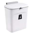 垃圾桶 廚房垃圾桶掛壁式滑蓋家用櫥柜門廁所衛生間客廳懸掛創意收納神器 全館免運