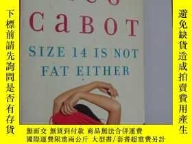 二手書博民逛書店Size罕見14 Is Not Fat Either 英文原版正