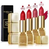 Guerlain嬌蘭 KISSKISS 法式之吻華麗絲霧唇膏#M376 DARING PINK(3.5g)