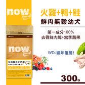 【SofyDOG】Now! 鮮肉無穀天然糧 幼犬配方(300克)狗飼料 狗糧
