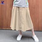 文青A字長裙