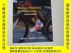 二手書博民逛書店罕見!Hole s Human Anatomy and Phys