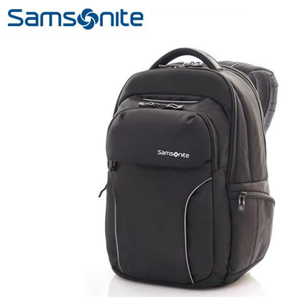 [佑昇]Samsonite 新秀麗 Torus 63Z 15.4吋電腦後背包 (附贈原廠電腦提袋!) (可放ipad 可插掛!) 黑