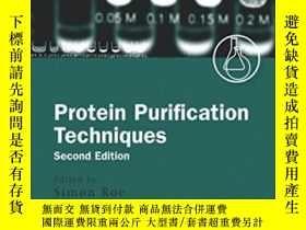 二手書博民逛書店Protein罕見Purification Techniques
