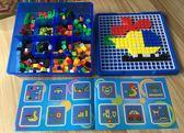 兒童玩具拼插積木早教益智蘑菇釘拼圖3-4-5-6周歲男女孩寶寶禮物限時八九折