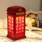 英國電話亭LED觸控小夜燈...