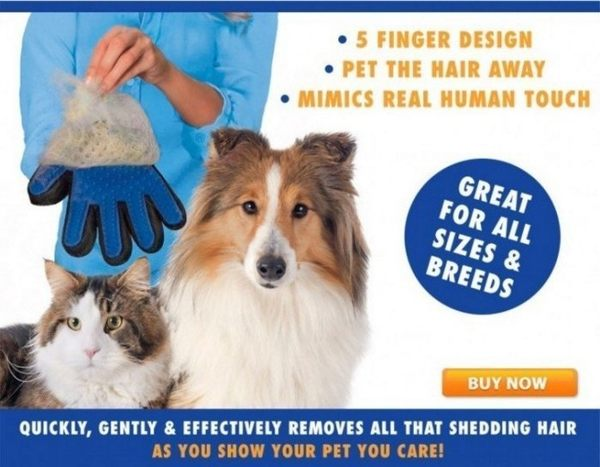 *KING WANG*寵物粘毛手套貓狗清潔按摩手套/粘毛器除毛刷貓狗通用 除雜毛 廢毛