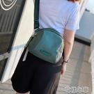 休閒胸包女貝殼包防水牛津布包大容量斜挎包輕便洋氣旅游包媽咪包 快速出貨