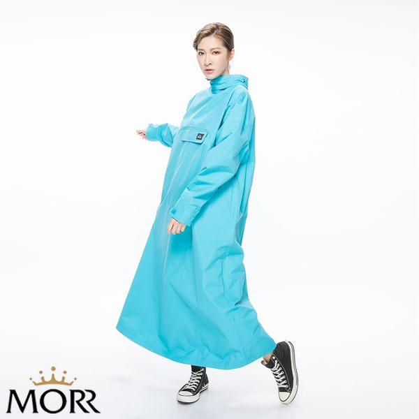 【MORR】PostPosi反穿雨衣【土耳其藍】快速穿脫/機車雨衣/連身雨衣/通勤/機車