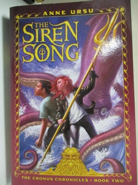 【書寶二手書T6/原文小說_GIZ】The Siren Song_Ursu, Anne