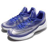 【六折特賣】Nike 籃球鞋 Air Max Infuriate Low EP 藍 黃 運動鞋 氣墊 XDR 耐磨大底 男鞋【PUMP306】 866071-400