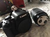 相機配件 佳能100D 200D 1500D 750d 760D 單反相機配件58mm卡通熊貓鏡頭蓋 享購