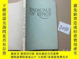 二手書博民逛書店RADICALS罕見OF RINGS(環的根)全英版Y36795