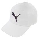 Puma 帽子 Baseball Cap 白 黑 LOGO 老帽 棒球帽 基本款 男女款 【ACS】 05291902