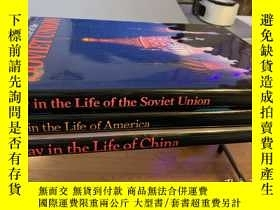 二手書博民逛書店美國發貨罕見美國中國蘇聯生活的一天A day in life of America Soviet Union  C