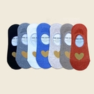 韓國女襪 金蔥愛心襪 隱形襪 船型襪 短襪 內有矽膠防脫落