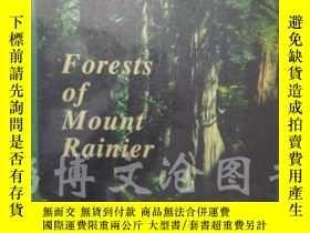二手書博民逛書店Forests罕見of Mount Rainier【大16開 英
