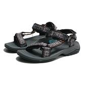 TEVA 涼鞋 TERRA FI LITE 灰咖啡 水陸機能 漫步者 編織 黏帶 男 (布魯克林) TV1001473TDSD
