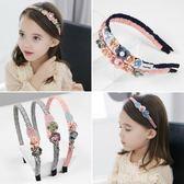 兒童發箍女童韓國可愛公主發卡頭飾防滑甜美小女孩學生頭箍發飾品艾尚旗艦店