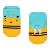 腳底止滑襪 後跟防磨 0-6歲 台灣製造 蜜蜂寶寶 瓦拉襪子 (嬰幼兒/兒童/寶寶/小孩/小朋友)