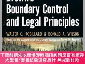 二手書博民逛書店預訂Brown S罕見Boundary Control And Legal Principles, Seventh