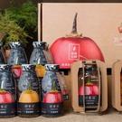 春霖山園 尊爵組禮盒(黃金/紅寶纖果飲x6+純醬x1+蜜釀x1)