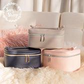 化妝包 便攜大容量收納包洗漱包女多功能簡約雙層 挪威森林