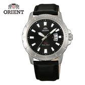 ORIENT 東方錶 SP 系列 日期顯示運動石英錶 皮帶款 FUNE2009B 黑色- 42mm